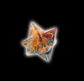 MERKABA 2 cm Orgonite