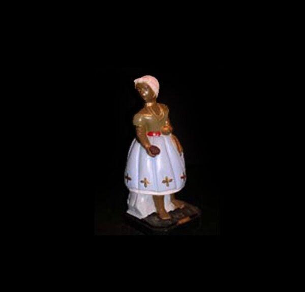 Statua in gesso Ossanhe Candomblè cm 22