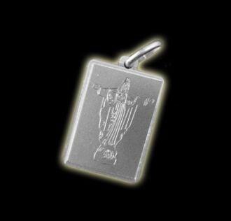 CHRIST REDEEMER MEDAL - OXALA - SILVER 925