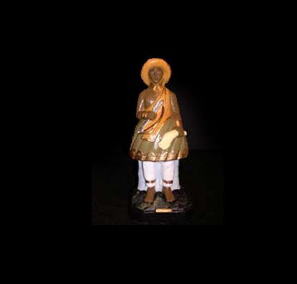 Statua in gesso Oxossi Candomblè cm 23