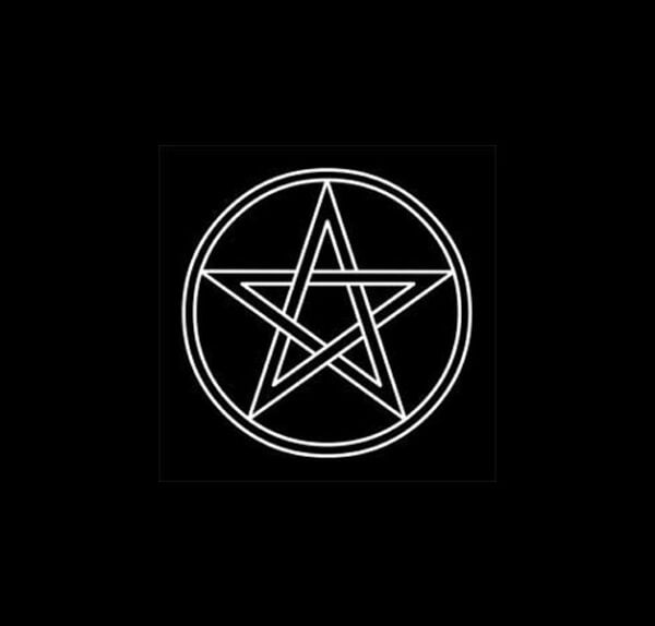 Cloth Pentagram CM 38 X 38