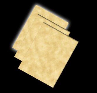 CARTA PERGAMENA VEGETALE (un foglio) 21 X 29,7