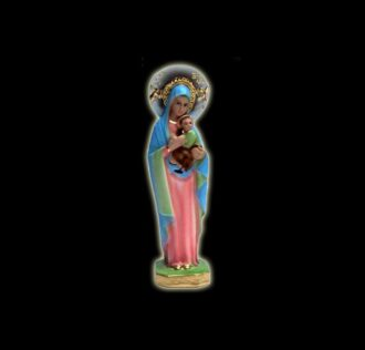 Statua della Vergine del perpetuo soccorso cm 21
