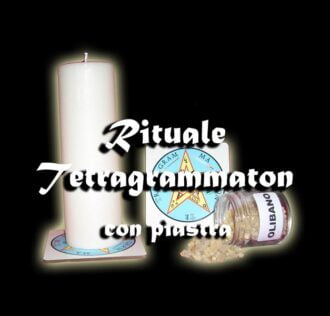RITUALE TALISMANO TETRAGRAMMATON