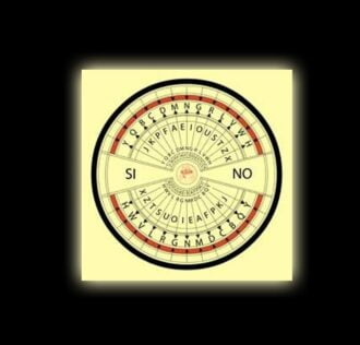 Quadrante per pendolo in tessuto cm 38 x 38