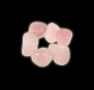 STONE  PINK  QUARTZ - ZODIAC SIGN:  LIBRA