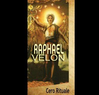 ARCHANGEL RAPHAEL CANDLE cm 18.5 x 5.5