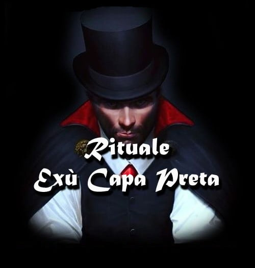 RITUAL OF EXU CAPA PRETA
