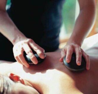 Rullo massaggiatore professionale in pietra