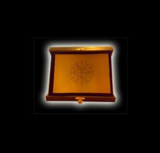 Piastra in ottone - cm 18 x 13 - Sigillo dell'Arcangelo Samael