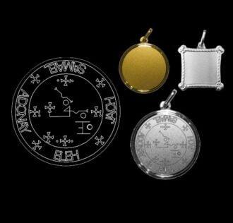 The seal of Archangel Samael - Silver 925