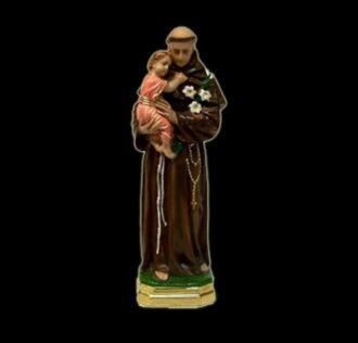 Plaster statue Sant Antonio da Padova cm 41