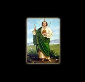 SAN GIUDA - STAMPA SUBLIMATICA SU ALLUMINIO CM 20 X 15