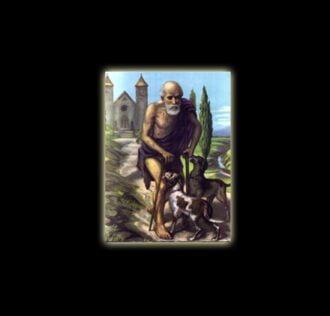 Saint Michael Archangel - sublimation ON ALUMINUM 30 X 20 CM