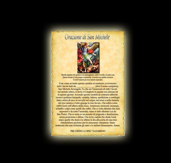 St Michael prayer - Parchment