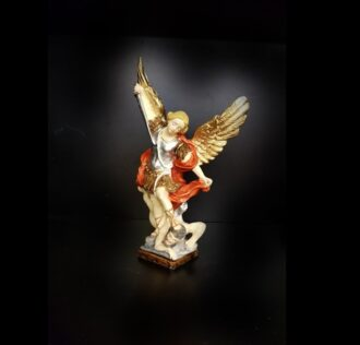 SAINT MICHAEL AND ARCHANGEL STATUE CM 21