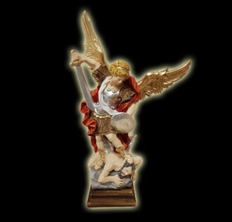 SAINT MICHAEL ARCHANGEL STATUE CM 25