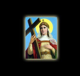 Saint Helena - sublimation ON ALUMINUM 20 X 15 CM