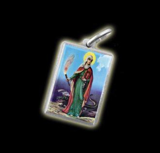 Medaglia - Immagine a colori SANTA MARTA - argento 925