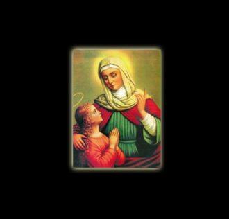 Saint Anna - sublimation ON ALUMINUM 20 X 15 CM