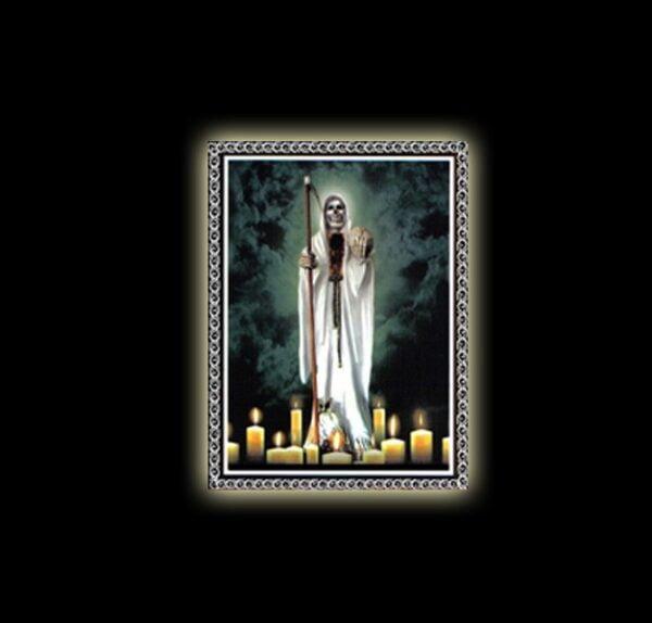 Holy Death (Santissima Muerte)  - sublimation ON ALUMINUM 30 X 20 CM