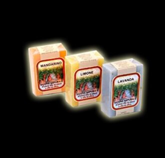 NATURAL SOAP VEGETABLE GR 100 - MANDARINE