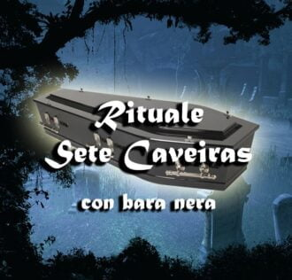 EXU SETE CAVEIRAS WITH BLACK COFFIN - RITUAL OF THE BREAKING