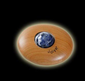 Rullo massaggiatore Joya classico con sfera in calcite
