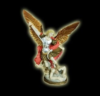 SAINT MICHAEL ARCHANGEL STATUE CM 30