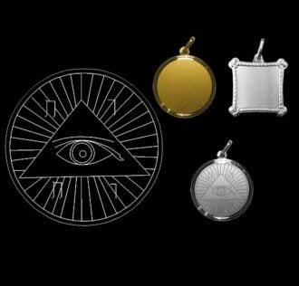 Devine eye- Silver