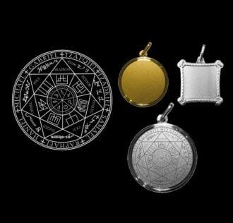 SEVEN SPIRITS - SILVER MEDAL 925 GR 3