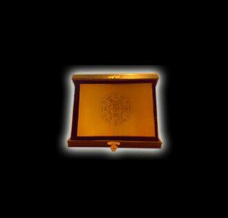 Piastra in ottone - cm 18 x 13 - Sigillo dell'Arcangelo Thavael