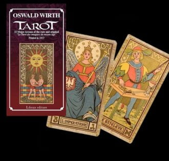 OSWALD WIRTH TAROT  - DECK OF TAROTS AND BOOK