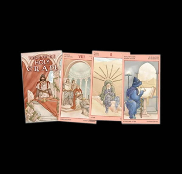 TAROT OF THE HOLY GRAAL - 78 CARDS