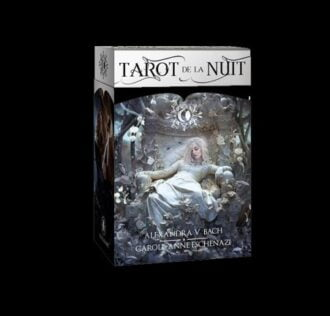 TAROT DE LA NUIT - BOX WITH CARDS AND PAPER