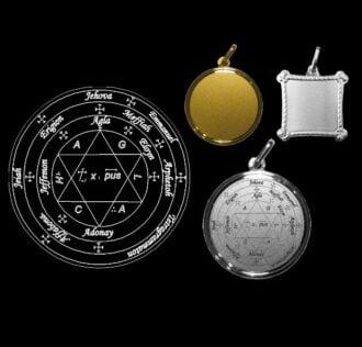 Seal of Pope Honorius - Silver medal 18 KT GR 3