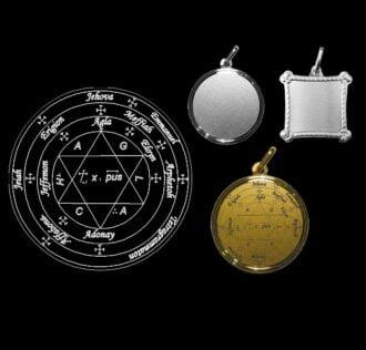 Seal of Pope Honorius - Golden medal 18 KT GR 3
