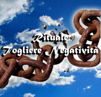 RITUAL TO GET RID OF NEGATIVITY