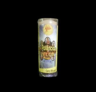 RITUAL CANDLE SEVEN AFRICAN POWERS - CM 18.5 X 5.5