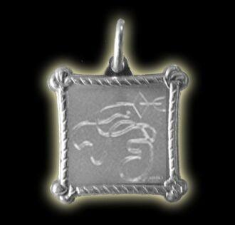 Vevè Aida medal - Silver 925
