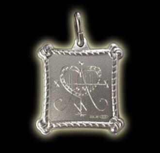 Vevè Anaisa medal - Silver 925