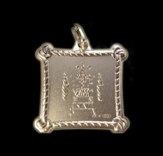 Vevè baròn Samedi medal - Silver 925