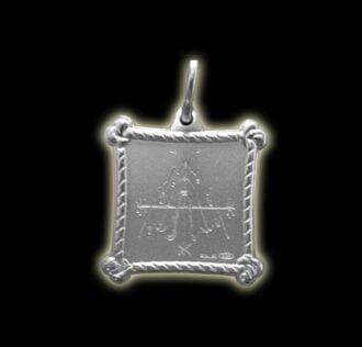 Vevè Deluge medal - Silver 925