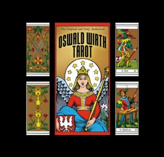 TAROT  OF OSWALD WIRTH 78 CARDS