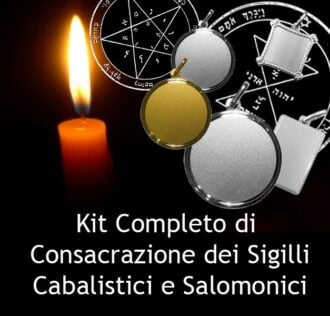 Consecration Kit for kabalistic medals
