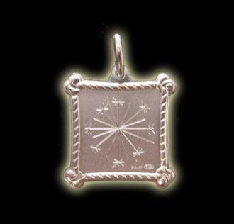 Vevè Zetwal medal - Silver 925