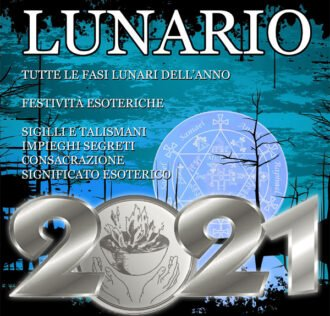 MOON PHASE 2021 - ONLY ITALIAN LANGUAGE